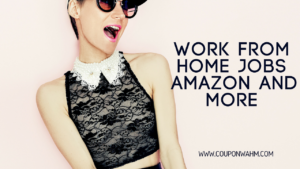 Work From Home Jobs Amazon and More