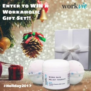 Enter for a chance to #win a Workaholic Gift Set #giveaways (ends 12/3)