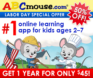 Half Off ABCmouse.com Annual Subscriptions