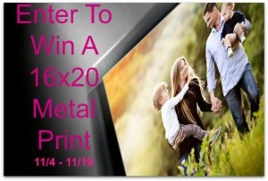 Enter to win A 16×20 Metal Print ( ARV $74) #2015HGG