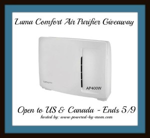 Enter to win A Luma Comfort AP400W Air Purifier (ends 5/9) #giveaways