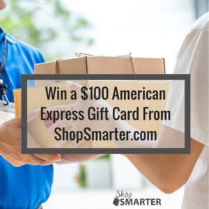 @ShopSmarterCom  #ShopSmarter #2017Spring Enter for a chance to win a $100 American Express Gift Card