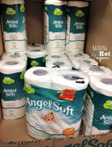 Angel Soft 4pk Toilet Paper Only $0.55!
