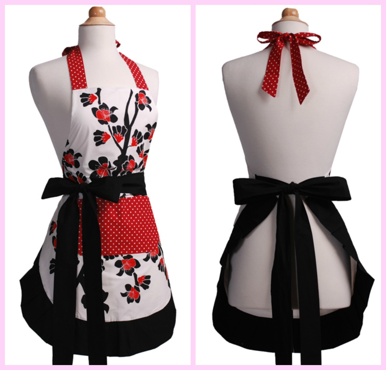 flirty apron collage