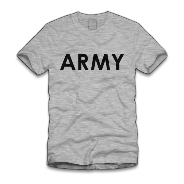 army shirts five finger tees