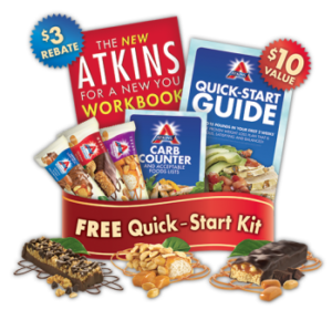 New Atkins Free Quick Start Kit + $5 Off