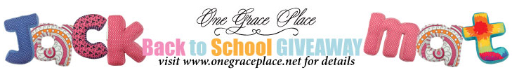 One grace place back to school giveaway 2