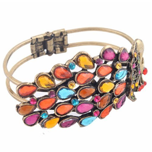 Amazon: Beautiful Vintage Peacock Bracelet Only $3.32 + FREE Shipping