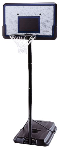 Pro Court Height-Adjustable Portable Basketball System with 44-Inch Backboard $89.00 shipped