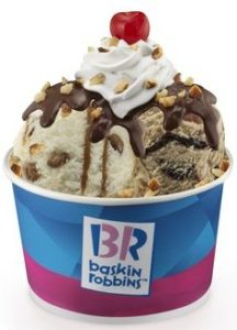 Baskin Robbins Offer—Buy One Get One Free Sundaes!