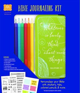 Personalize Your Bible With The #BibleJournalingKit #FlyBy