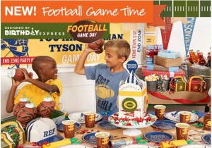 Football-Themed Party Ideas by Birthday Express