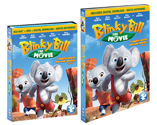 Factory Kids, Blinky Bill: The Movie Is now available in 3D Blu-ray+DVD+Digital Combo Pack from Shout!