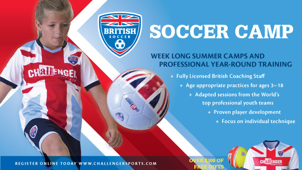 British Soccer Camps Offer Kids Soccer Fun @ChallengerCamps #soccer #camps