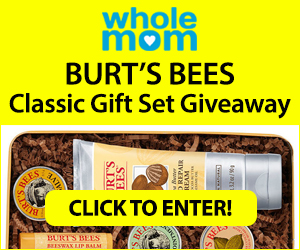 Enter For A Chance To Win In The Burt's Bees Classic Gift Set Giveaway