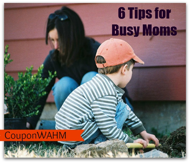 6 Tips for Busy Moms