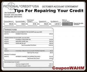 Tips For Repairing Your Credit