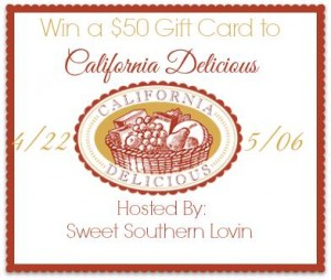 california delicious giveaway