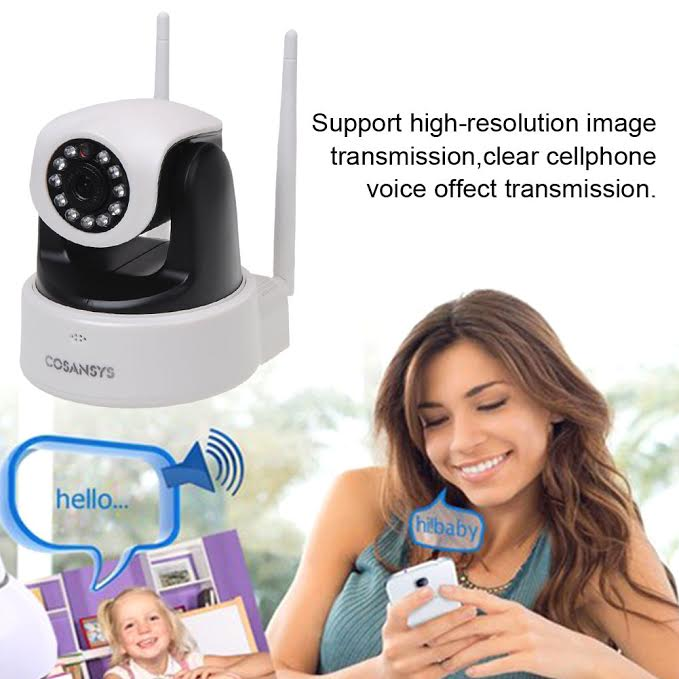 Special offer for Christmas on the Cosansys Wireless IP Network Camera Get 50% off & free shipping