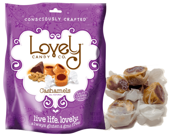 Looking for Gluten & GMO Free candy? Check out The Lovely Candy Co.