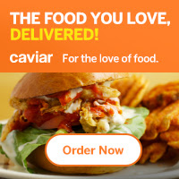 Get Food Delivered with Caviar