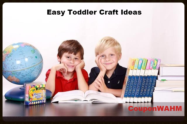 Easy Toddler Craft Ideas