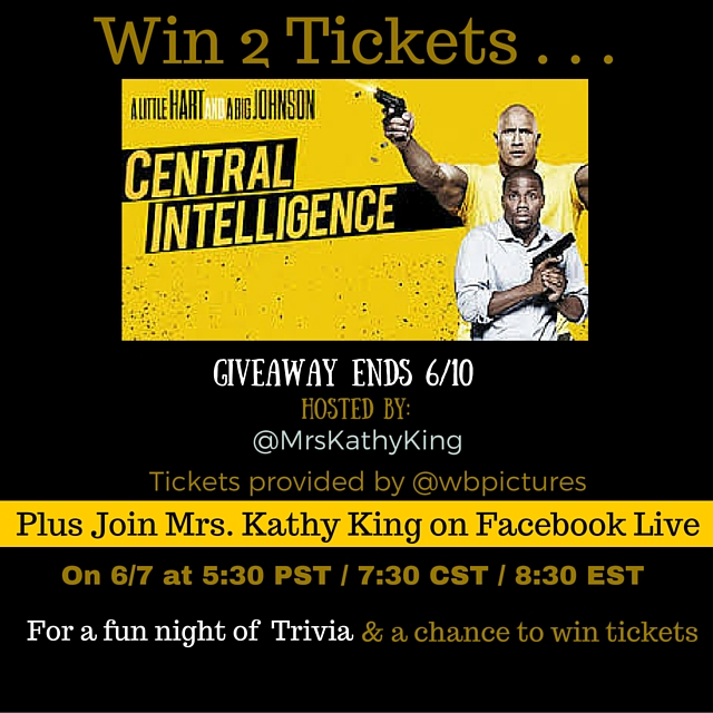 Enter to Win 2 Tickets to See Central Intelligence