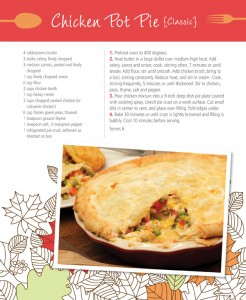 Super Simple Chicken Pot Pie #Recipe