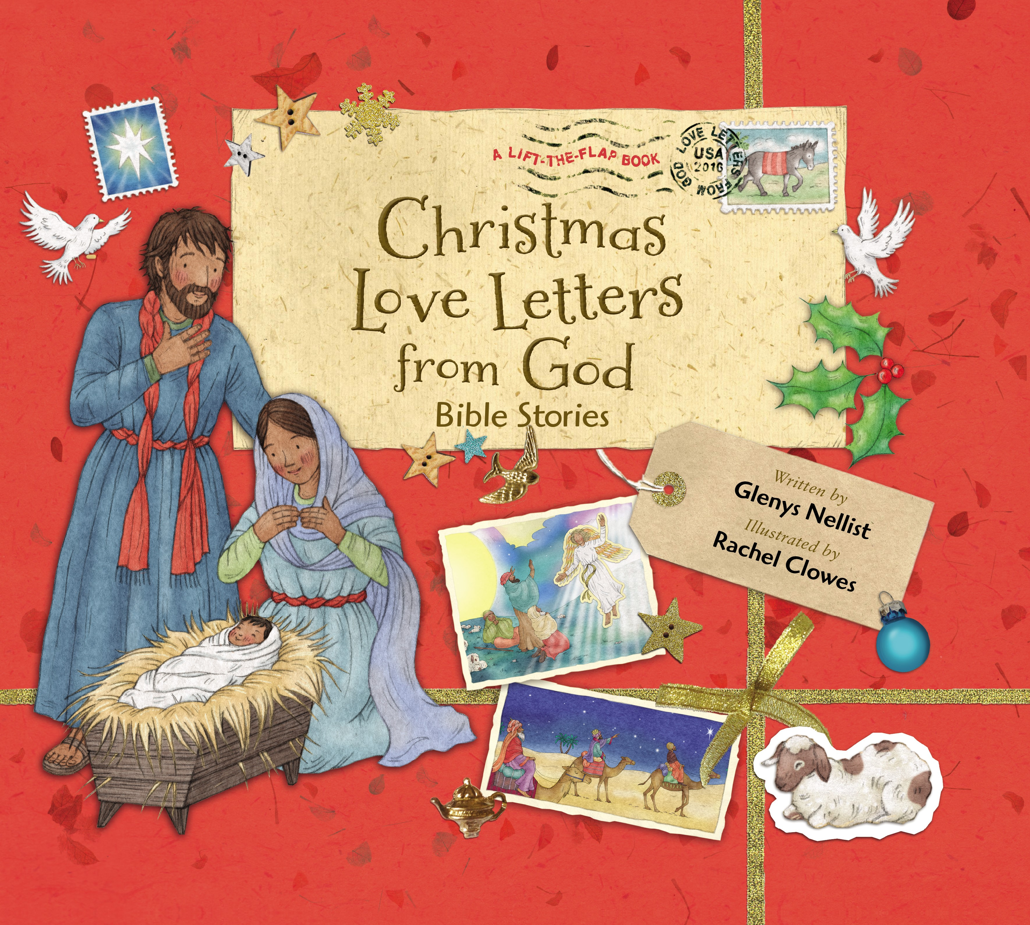 Discover The Birth Of Jesus In Christmas Love Letters from God Bible Stories
