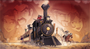 Available Now Train Robbery Award winning board game Colt Express