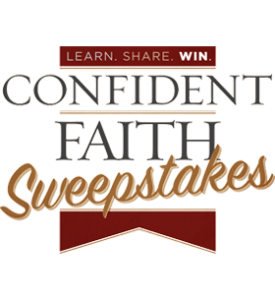 confident faith sweepstakes