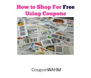 How to shop for FREE using coupons