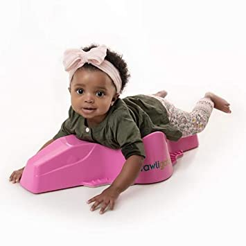 Crawligator Tummy Time rolling Toy provides mobility for infants #HolidayGiftGuide