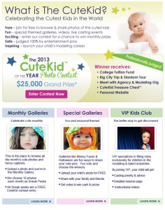Enter To Win College Tuition, Prizes and more In The 2013 Cutekid Contest
