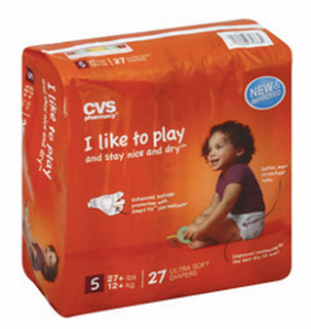 CVS Jumbo Pack Diapers or Training Pants $3.99 After ECB