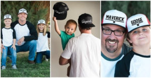 *hot* New for Father's Day – Was $24.99 – Now $12.99 – Daddy & Me Snapback Hats | 7 Matching Designs (5/30 to 6/1)