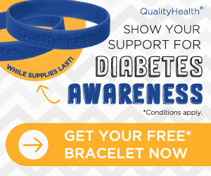 #free Diabetes Awareness Bracelet
