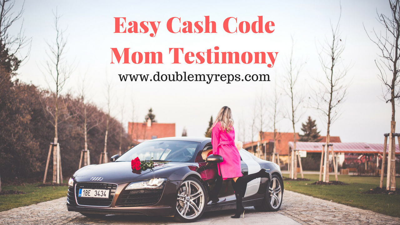Easy Cash Code Mom $1,000 Testimony Replay