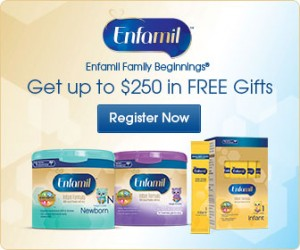 Free Enfamil Samples plus $60 in coupons!