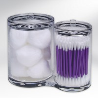 epica clear cotton ball container