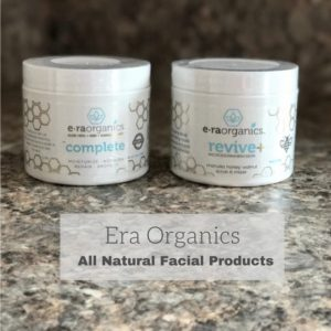 @EraOrganics or #EraOrganics #2017Spring Enter for a chance to win a 4 oz of Era Organics Complete and 4 oz Revive+