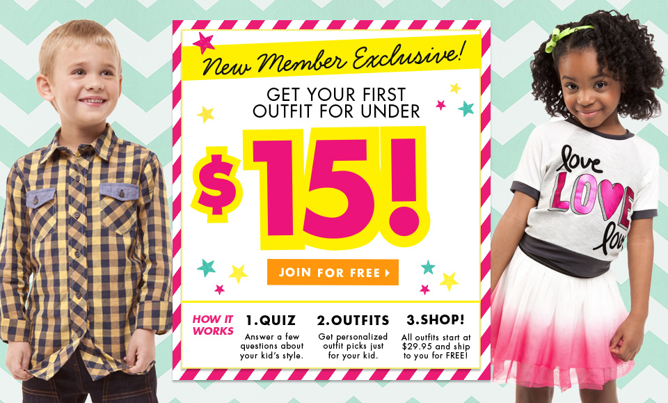 Fab Kids 2 Piece Outfits $15 + FREE Shipping!
