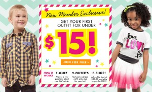 Fabkids Sale: Complete Kids Outfits $15 with Free shipping