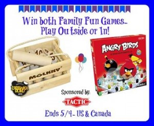 Enter to win 2 games from Tactic Games (ends 5/4) #giveaways