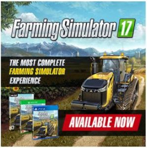 Enter for a chance to win a Farming Simulator 17 video game#2016HGG @MaximumGames #farmingsimulator17