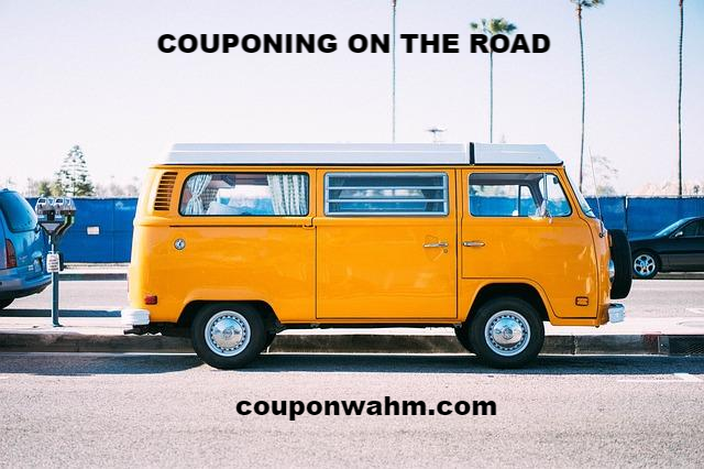 COUPONING ON THE ROAD