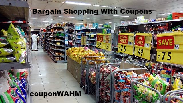 Bargain Shopping With Coupons