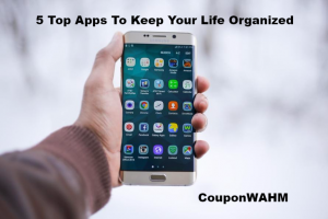 5 Top Apps To Keep Your Life Organized