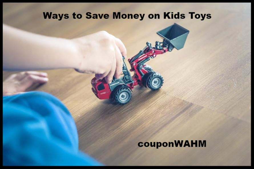 Ways to Save Money on Kids Toys