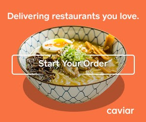 Need a Break from Cooking? Order from Caviar!